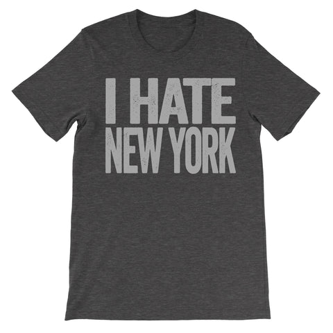 shirt that says i hate new york