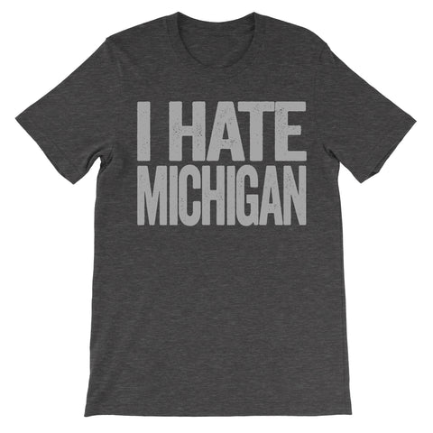 i hate michigan shirt