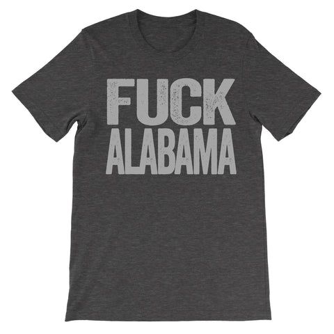 Fuck Alabama dark grey tshirt