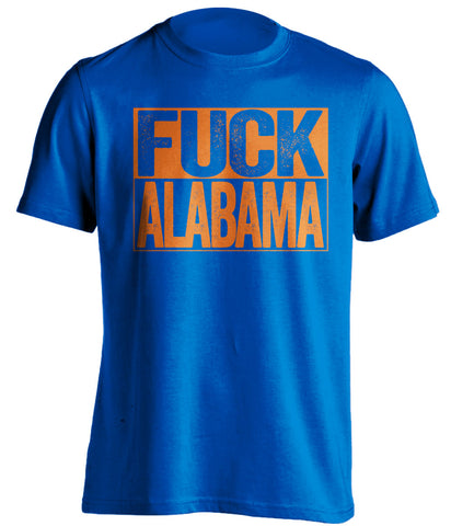 fuck alabama florida gators shirt