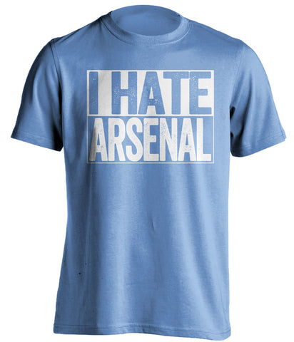 i hate arsenal manchester city football fan
