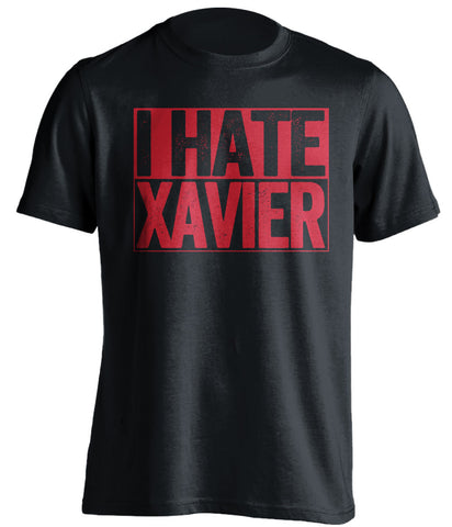 I Hate Xavier - Cincinnati Bearcats Fan T-Shirt - Box Design - Beef Shirts