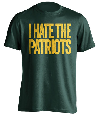 i hate new england patriots green bay football fan