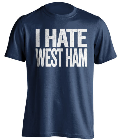 i hate west ham millway fan gift shirt