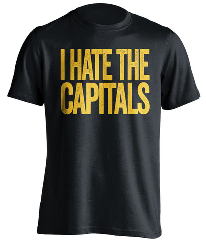 I Hate The Capitals Pittsburgh Penguins black Shirt