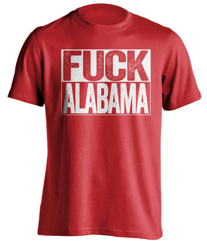 fuck alabama georgia bulldogs shirt