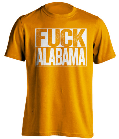 fuck alabama tennessee volunteers shirt