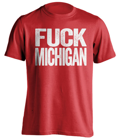 fuck wolverines wisconsin badgers shirt