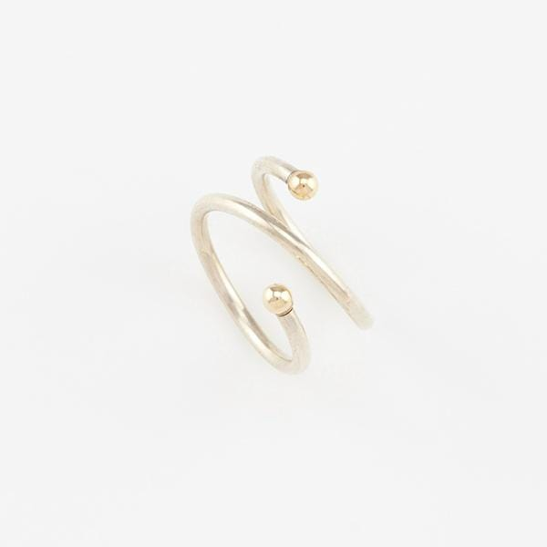Double Comet Ring Accessories AMY TAMBLYN