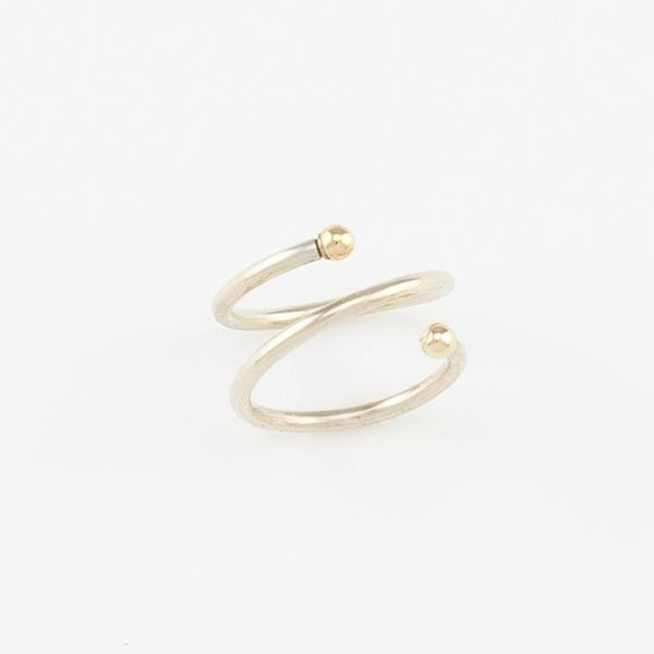 AMY TAMBLYN Accessories Double Comet Ring