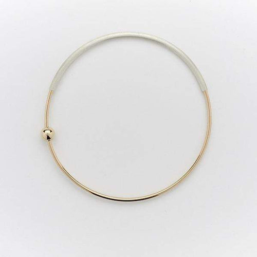 AMY TAMBLYN Accessories Orbit Bangle | Single Bead
