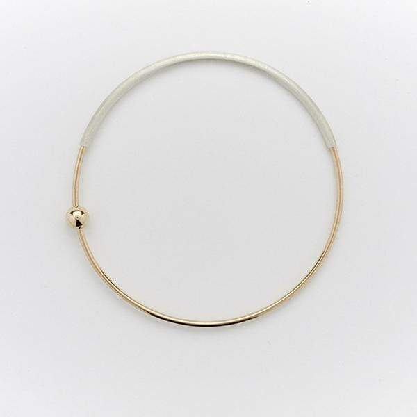 Orbit Bangle | Single Bead Accessories AMY TAMBLYN