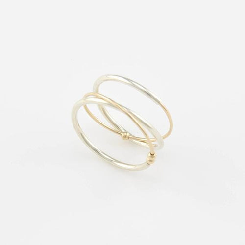 AMY TAMBLYN Accessories Satelite Ring With Beads