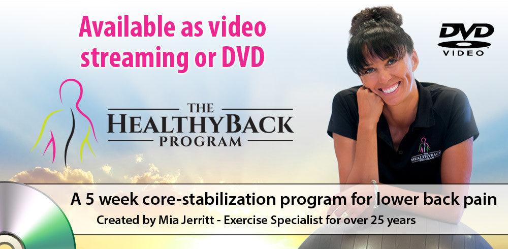 Back Exercise DVD Video