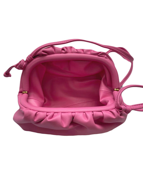 pink mini pouch leather cross bag *pre-order*