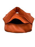 orange PU leather handle bag *pre-order*