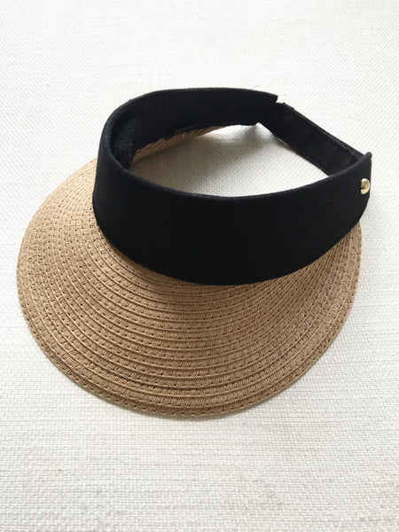 STRAW visor hat - 3 colours *pre-order*