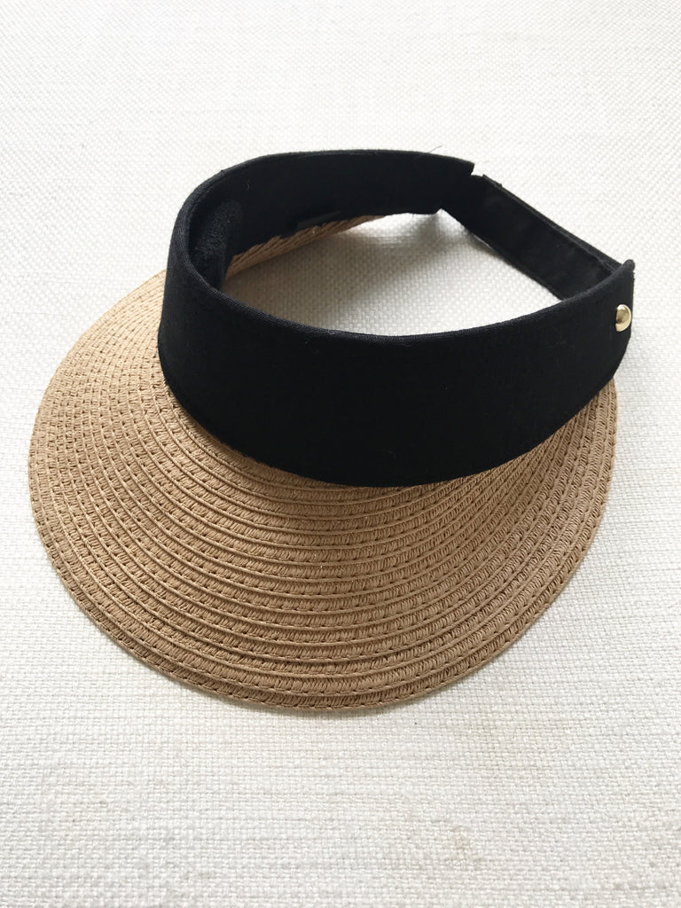 ... STRAW visor hat - 3 colours ... cd88adeab85