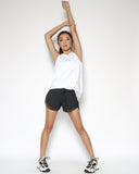 black hems hem sports shorts *pre-order*