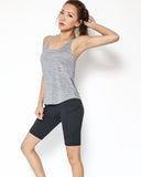 black 1/4 length sports legging *pre-order*