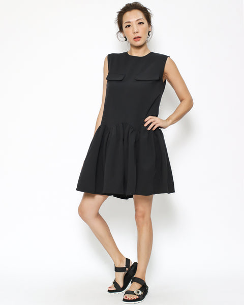 black pockets front dress *pre-order*