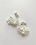 pearls & beads earrings