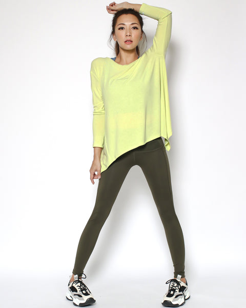 yellow sports top *pre-order*
