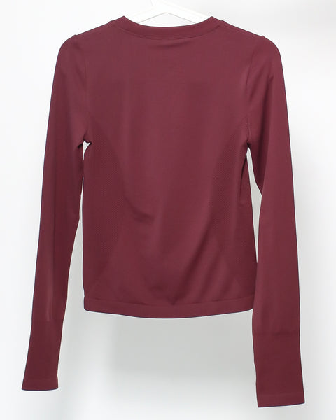 plum sports top *pre-order*