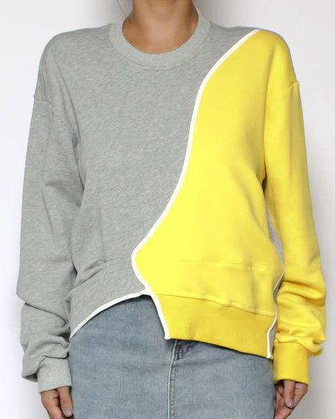 grey & yellow sweatshirt *pre-order*