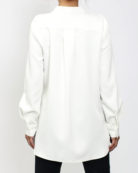 ivory ruffles front shirt *pre-order*