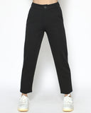 black wool-blended pants *pre-order*