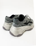 grey distressed sneakers *pre-order*