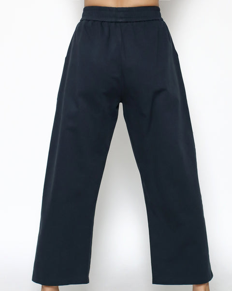 navy twill casual pants *pre-order*