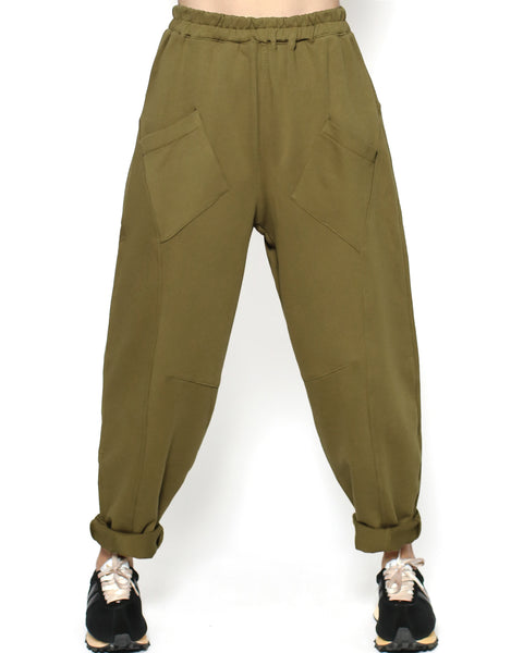 olive green sweat pants *pre-order*