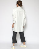 ivory double layer shirt *pre-order*