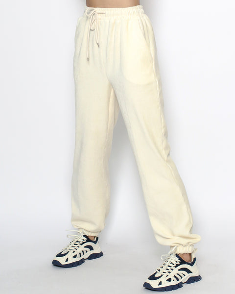 ivory cord joggers *pre-order*