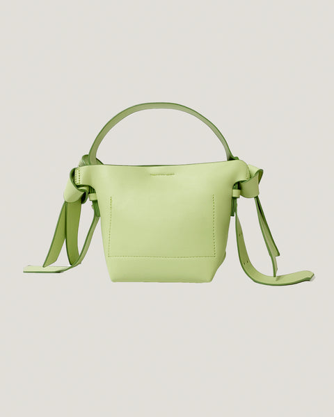 apple green PU leather straps cross body bag *pre-order*