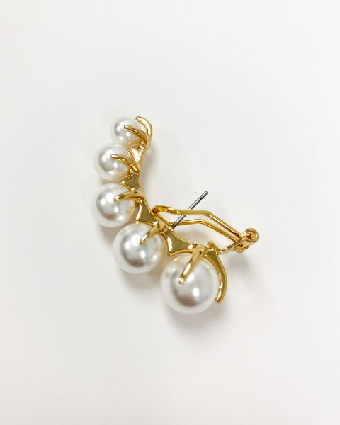 pearls single earrings *pre-order*