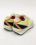 ivory with yellow & navy contrast sneakers *pre-order*