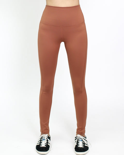 caramel sports leggings *pre-order*