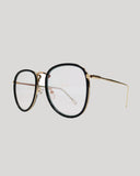 black round glasses with clear lens *pre-order*