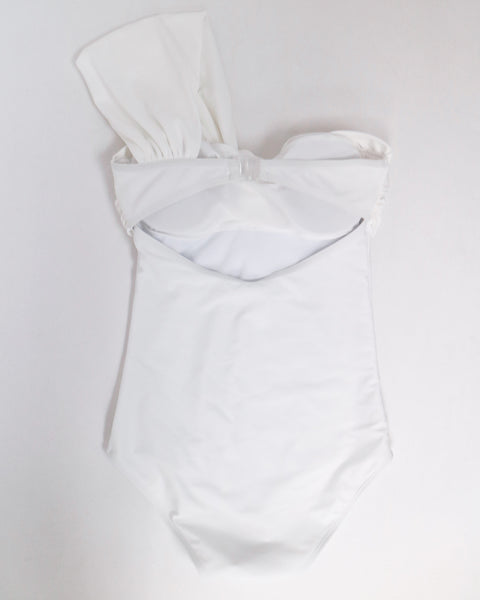 iVORY one shoulder one piece swimwear *pre-order*