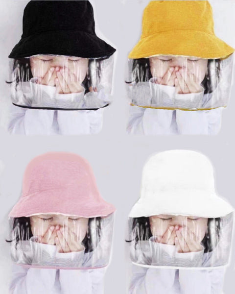 kids hat with pvc covered front *pre-order*