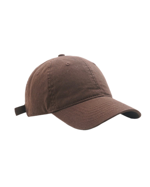 Brown canvas cap *pre-order*
