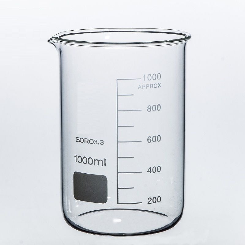 Borosilicate Glass Beakers Laboratory Glassware Beaker Sets Boro 3.3 Fast P+P