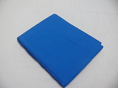 Backdrop Blue Chroma Key Cotton Muslin 2.5mx3m - Rocwing Photographic Equipment