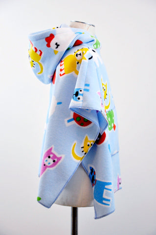 FarmyardMoo Children's Poncho with Pocket & Hood  (Only 2 Available!)