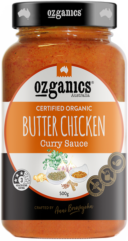 Organics Butter Chicken Curry Sauce 500g