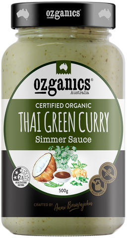 Organics Thai Green Curry Sauce 500g