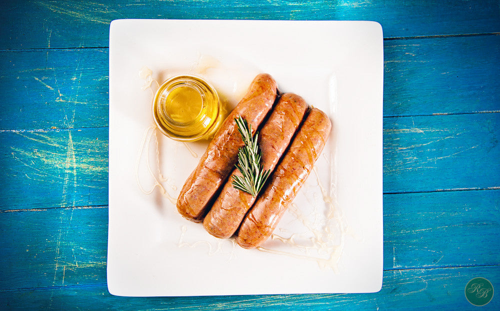 Lamb Rosemary and Honey Sausage per 500g